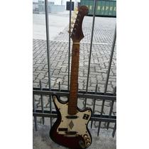 Guitarra Saema Vintage Muito Antiga Baixei