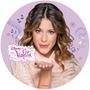 Violetta - Papel Arroz Redondo 20 Cm