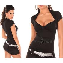 Blusa Feminina Malha Viscose Batas Blusas Plus Size Regatas