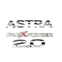 Kit Emblemas Astra 2.0 Flexpower + Brinde