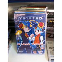 Dvd Original Megaman Nt Warrior Vol. 01 (lacrado)