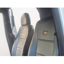 R7 Capa Banco Couro Courvin Chevrolet D-20 Dupla 92/96