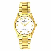 Relógio Champion Feminino Dourado Cn29070h Original