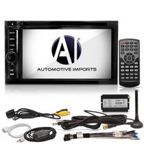 Central Multimídia Carro Cd Dvd Internet Através De Modem 3g