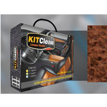 Kit Limpeza Hidratação Bancos Couro Automotivo Profissional