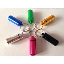 Chaveiro Snuff Bullet Dosador Porta Remédios Frete Grátis
