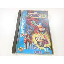 Jogo Sega Cd - Sonic Cd Original, Americano No Estojo Veja