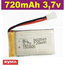 Bateria Para Drone Syma 720mah X5c X5sw Jjrc H5 3.7v 25c