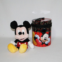 Mickey De Pelúcia Na Lata - Disney