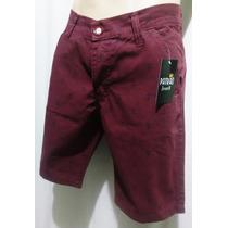 Bermuda Patrão Jeans Shorts Masculino Bermuda Colorida Promo