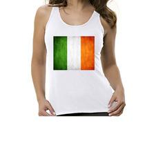 Camiseta Regata Bandeira Irlanda - Feminino