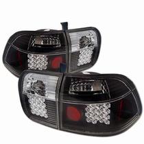 Lanterna Altezza Leds Honda Civic 96/97/98 Sedan Black