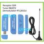 Kit Rádio Receptor Sdr Digital Hf Ssb Px Py Aviação Vhf Uhf