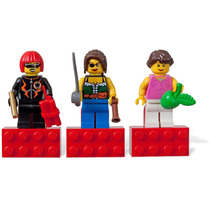 Lego City - 03 Bonecos Personagem Feminina Menina