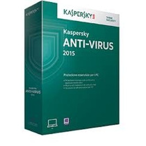 Anti Virus Kapersky 2015 P/ 1 Pc Original Lacrado