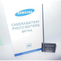 Bateria Samsung Bp70a Original Es65 Es70 St60 Pl120 Pl20