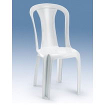 Cadeira De Plástico Tipo Bistrô Modelo Ametista Bells