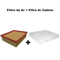 Filtro Ar + Filtro Ar Cabine Punto 1.8 8v Flex 2007 Até 2011