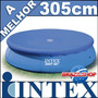 Capa Lona Piscina 3,05 Intex Serve Mor Bel Bestway Nautika