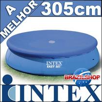 Capa Lona Piscina 3,05 Intex Serve Mor Bel Bestway Nautika