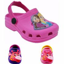 Sandalia Crocs Chinelo Papet Babuche Infantil Feminina