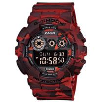 Relógio Casio G-shock Gd 120cm 4dr Alarmes Wr200m Nf-e