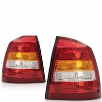 Par Lanterna Traseira Astra Sedan 02 01 00 99 98 Tricolor