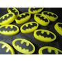 20 Sabonetes Artesanais Batman 40g Para Lembrancinha