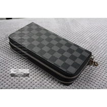 Carteira Louis Vuitton Double Zippy Unisex- Original!