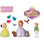 Princesa Sofia Amber James E Sua Turma Boneca Disney