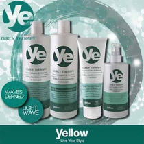 Kit Yellow Curly Therapy Da Alfaparf Para Cabelos Cacheados