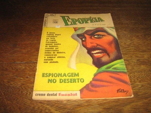 Epopéia Novo Formato Nº 36 Julho/1964 Editora Ebal