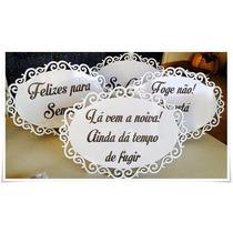 Adesivo Frase Personalizada Para Placas De Casamento