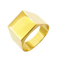 Leão Jóias Anel Masculino Ouro 18k 6gr 10mm