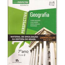 Geografia Perspectiva - Manual Do Professor - 7º Ano - Rudek