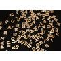Letras Acrílico Espelhado Dourado Corte Laser 1,5 Cm