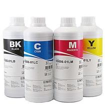 Kit De Tinta 4 Cores Para Bulk Ink 400ml Alta Definição