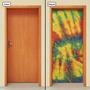 Adesivo Decorativo De Porta - Pintura - Abstrato - 056mlpt