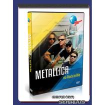 Dvd Show Metallica Ao Vivo Hd Rock In Rio 2015