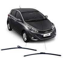Kit Limpador Diant. Palheta Silicone Hyundai Hb20 / 20x /20s