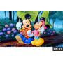 Mickey Minnie Turma Painel 3m² Lona Festa Banner Aniversario