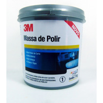 Kit Massa De Polir 1kg E Cera Protetora Plus 500ml - 3m