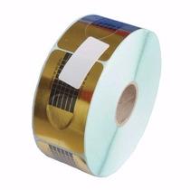 500 Moldes Adesivos Acrigel Para Unha De Porcelana Gel