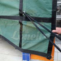 Lona Premium 7x4 M Encerado Argolas Ripstop Verde Caminhão