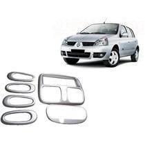 Kit Painel Prata Renault Clio 98/ Painelkit