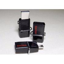 Pen Drive Sandisk Ultra Dual Drive Usb 2.0 Micro-usb - 16gb