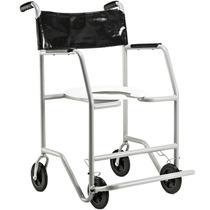 Cadeira De Rodas Para Banho 130kg Jaguaribe #frete Grátis
