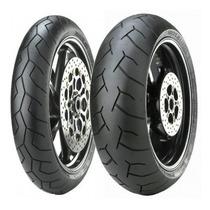 Par Pneu Pirelli Diablo 120 + 160 Xj6 Bandit Gsx650f Gsx750f