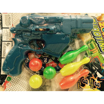 Arminha De Brinquedo, Com 03 Munição De Bolinha 2,5cm