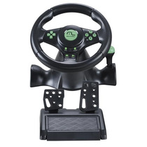 Volante Racer 4 Em 1 Xbox360 Ps3 Ps2 Pc Cpedal E Cambio De
